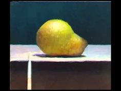 ▶ Painting Demonstration: Pear no 2 - Jos van Riswick - YouTube