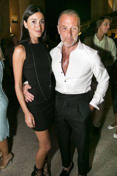 Giorgia y Gianluca Vacchi en la inauguración boutique DSQUARED2 en Porto Cervo. 19 julio 2014