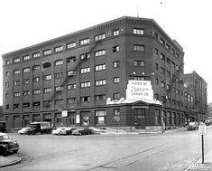Pearson Candy Company, 411 Broadway, St. Paul, 1955. Image: Minnesota Historical Society Photograph Collection. Nut Goodie, Minnesota Historical Society, Candy Companies, Exterior, History, Image, Broadway, Photograph, Bar