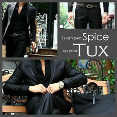 Consider Spicing up your Tux for the Holidays.