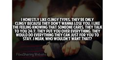 Clingy Girlfriend Not A Bad Thing... #cling #clingy #gf #bf #girlfriend #boyfriend #people #person