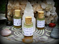 Black Cat Ritual Oil, Essential Anointing Hoodoo Oil 1/2 oz. by leighswiccanboutique on Etsy