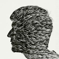 Multiple Exposure Portraits by Christoffer Relander, via Behance