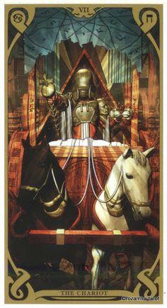 VII-The Chariot - Night Sun Tarot - Rozamira Tarot - Picasa-Webalben