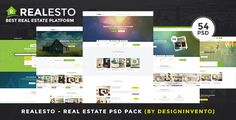 Realesto - Real Estate PSD Pack by designinvento   ThemeForest