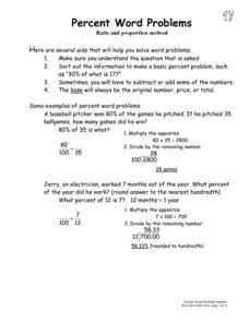 math worksheet : mental math breaking apart to add worksheet  math  pinterest  : Percent Word Problems Worksheet