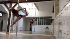 Doris Arnold - Pole dance advanced choreography - octobre 2014