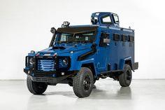 Toyota Land Cruiser – броневик для спецподразделений