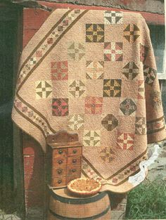Love the muted colors in this quilt