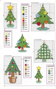 Cross Stitch Christmas theme.