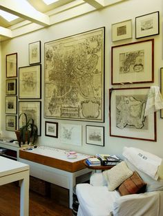 Wall of Maps....