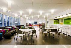 Astral Media Office Interieur Design von Lemay Associés
