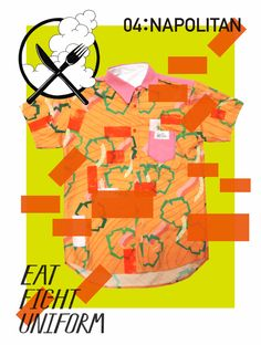 Eat Fight Uniform: Napolitan - Aoyama Nozomi