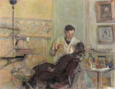 Édouard Vuillard - Le docteur Georges Viau dans son cabinet dentaire (1914)