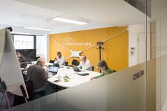 Concentrix, a global software and business services provider, required a fast track fit out throughout their new three-storey office. Software, Track, London, Business, Fitness, Home, Design, Runway, Ad Home