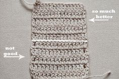 Some time ago I saw a few tutorials on how toget even edge when working double crochet. Some were simple, some – more complicated. Then I played around and came up with this version, which I love. It is really simple, it gives the great result and you don't need to know any special technique Read more