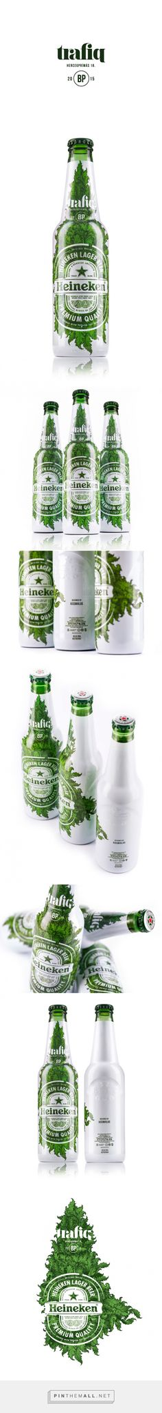 Trafiq Club Heineken Limited Edition Packaging designed by kissmiklos  - http://www.packagingoftheworld.com/2015/10/trafiq-club-heineken-limited-edition.html