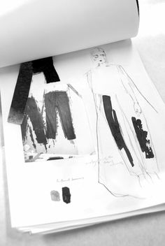 Fashion Sketchbook - tailoring development; fashion design sketches; fashion…
