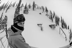 Mark McMorris inspects the course at the Red Bull Ultra Natural at Baldface Lodge in Nelson, BC Canada on February 15th 2013.  | Red Bull Ultra Natural 2013 Gigi Ruf Wins Photos and Full Story | TransWorld SNOWboarding