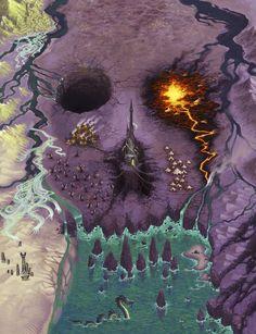 http://wellofeternitypl.blogspot.com Age of Sigmar Artwork | Ghouls #artwork…