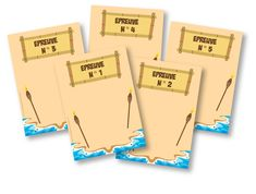 (FREE: The cards … – Birthday Ideas Totem Koh Lanta, Kho Lanta, Party Printables, About Me Blog, Happy Birthday, Activities, Cards, Centre, Plein Air