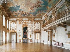 Ansbach Residenz | ansbach festsaal in der residenz die residenz ansbach war der ...