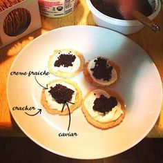 3-Ingredient Caviar Appetizer