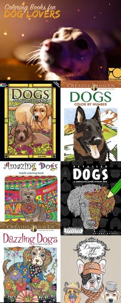 Love these dog coloring books!