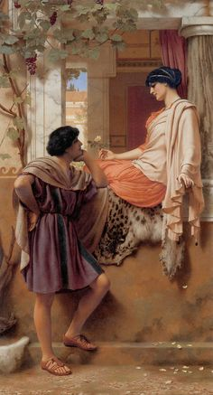 Godward The Old Old Story 1903 - John William Godward - Wikipedia, the free encyclopedia