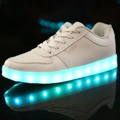 Men's Casual Shoes Size 46 Baskets Led Shoes Luminous Sneakers Glowing Sneakers With Lights For Women Men Light Up Krasovki Zapatos De Hombre Keep You Fit All The Time Men's Shoes