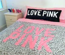 Victoria Secret Love Pink bedding