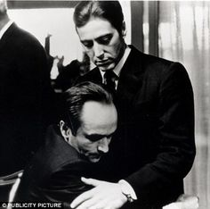 Pacino as Don Michael Corleone in the Godfather
