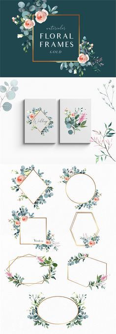 Paper Embroidery Ideas Summer garden - floral graphic set by Youksy on Rose Illustration, Floral Bouquets, Floral Wreath, Paper Embroidery, Embroidery Ideas, Flower Girl Basket, Flyer, Flower Crown, Floral Watercolor