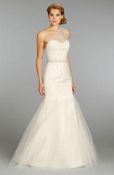 Sweetheart Mermaid Wedding Dress  with Natural Waist in Tulle. Bridal Gown Style Number:32888943