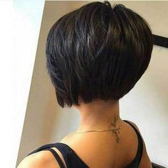 The best collection of Short Bob Hairstyles, Latest and best Short Bob Hairstyles, Short Bob Haircuts Trends for women Cute Bob Hairstyles, Hairstyles Haircuts, Hairstyle Ideas, Hair Ideas, Black Hairstyles, Pixie Haircuts, Medium Hairstyles, Elegant Hairstyles, Braided Hairstyles