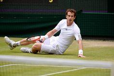 Andy Murray -Wimbledon 2013 Day 9