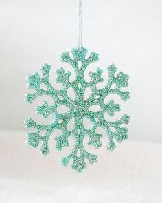 Mint snowflake
