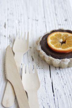 chocOlate orange tartelettes ...