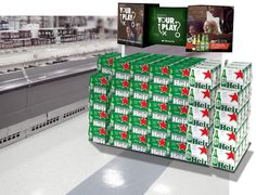 """Heineken """"What's Your Play"""" Portfolio Program Challenges Shoppers to Up Their Game"""