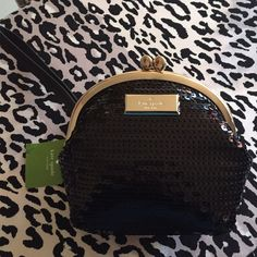 Kate Spade Posie Salinas Place Sequin Wristlet NWT Kate Spade Posie Salinas Place Sequin Wristlet. Great for a night out, a New Year's Eve night, or date night. kate spade Bags Clutches & Wristlets