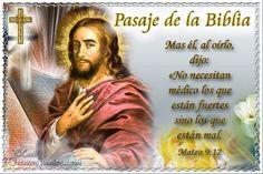 Vidas Santas: Santo Evangelio según san Mateo 9:12