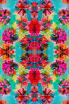 tropical floral available on society6