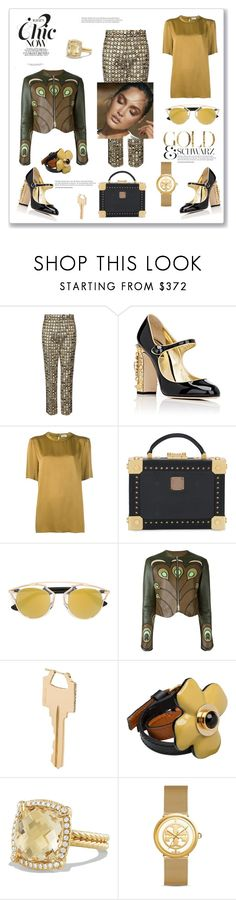 """What's chic now...."" by zabead ❤ liked on Polyvore featuring Racil, Dolce&Gabbana, Lanvin, MCM, Givenchy, Lauren Klassen, Marni, David Yurman and Tory Burch"