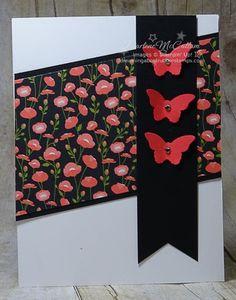 Bitty da borboleta Punch and Triplo Cartão de perfurador da bandeira