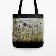 Sheena Kalmakova - BOUTIQUE - Tote-Bag---Crows
