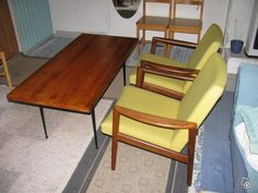 Pöytä ja tuolit 70-luku | tori.fi
