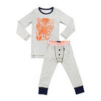 Pyjama Tiger (Claesen's) - Pyjama met tijgerprint, 95% katoen, 5% lycra. Wasbaar 30°
