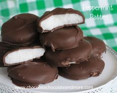 Homemade Peppermint Patties - Chocolate Chocolate and More!