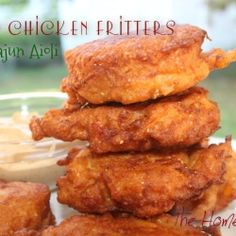 These fritters were super yummy, and the best part is with all these flavors you could easily swap the meat out for crab or shrimp or any other fish you like. The aioli definitely made this dish so don't forget to whip up some and refrigerate for a bit while you're making your fritters.