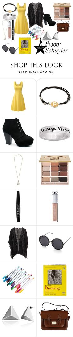 """""""Hamilton: An American Musical"""" by nerdyform on Polyvore featuring Alex and Ani, Kendra Scott, Stila, NYX and Christian Dior"""